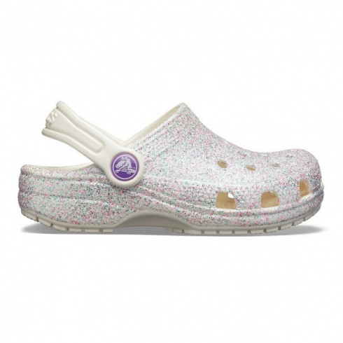 Crocs 205441-159 Kids Classic Glitter Clog K gyerek papucs