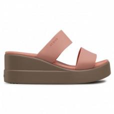 Crocs 206219-6RL Brooklyn Mid Wedge W női papucs