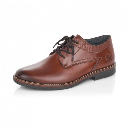 Rieker 15332-25 férfi bőr cipő barna