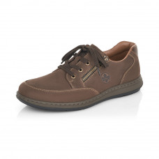 Rieker 17321-25 férfi bőr cipő barna