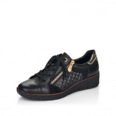 Rieker 53703-00 női félcipő